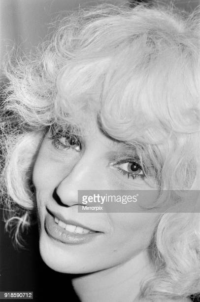 Angie Bowie ex wife of singer David Bowie pictured in Switzerland 13th January 1978