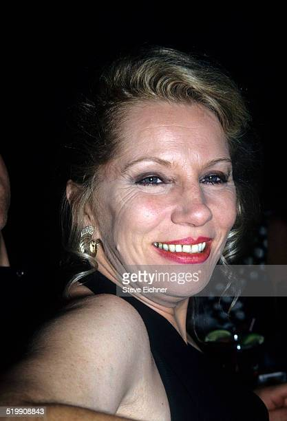 Angie Bowie out clubbing, New York, July 1, 1993.