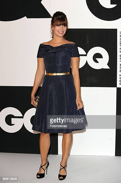 Angie Cepeda attends 2008 GQ Magazine Men of the Year Awards ceremony at the Palace Hotel on November 24 2008 in Madrid Spain
