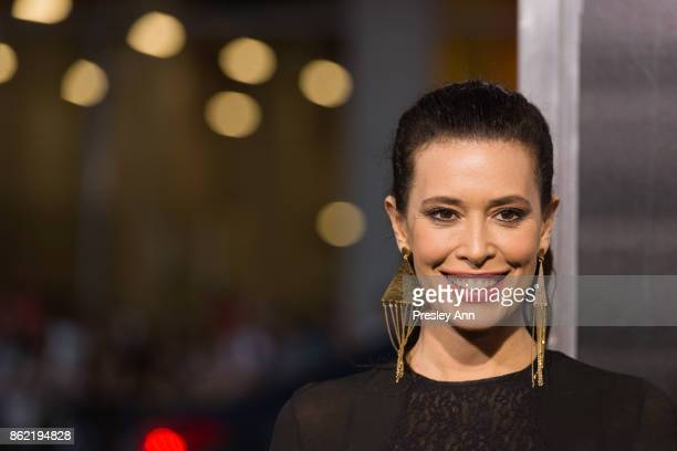 Angie Cepeda attends Premiere Of Warner Bros Pictures' 'Geostorm' Arrivals at TCL Chinese Theatre on October 16 2017 in Hollywood California