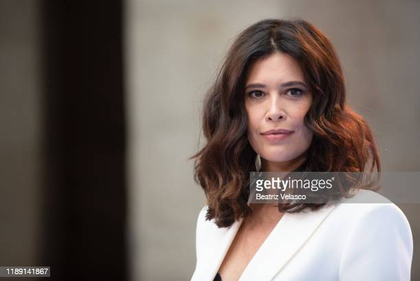 Angie Cepeda attends the 'Jose Maria Forque Awards' Final Candidates Lecture at Real Casa de Correos on November 21 2019 in Madrid Spain