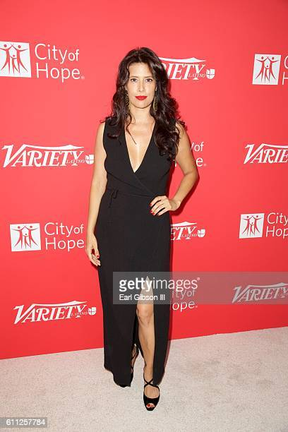 Angie Cepeda attends Variety's 10 Latinos to watch at The London West Hollywood on September 28 2016 in West Hollywood California