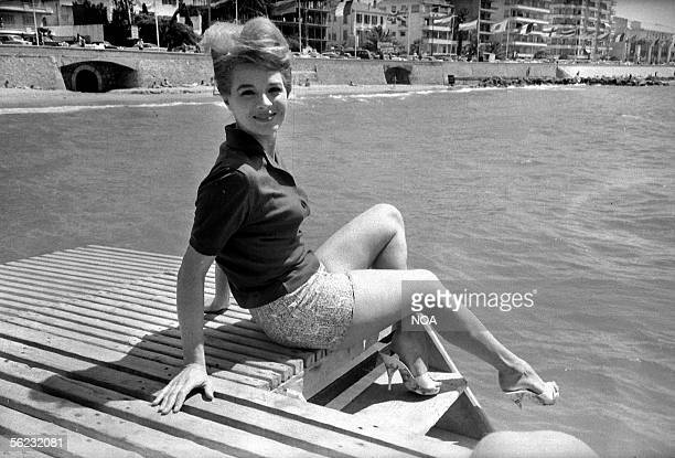 Angie Dickinson American actress Festival of Cannes 1961 HA144213
