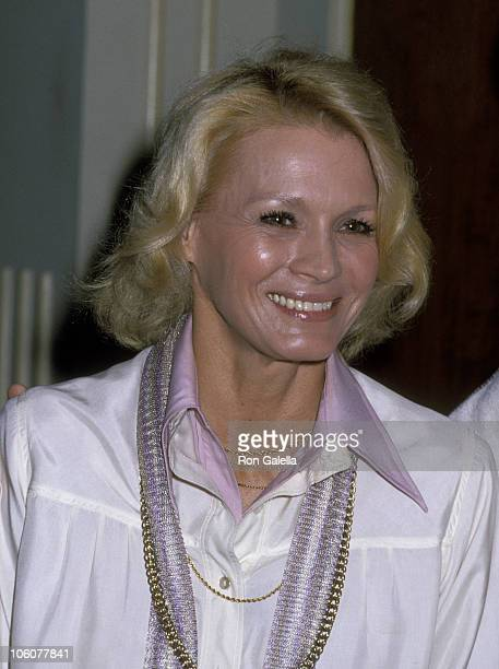 Angie Dickinson during Angie Dickinson at a Taping of The David Frost Show 1978 at Beverly Hilton Hotel in Beverly Hills California United States