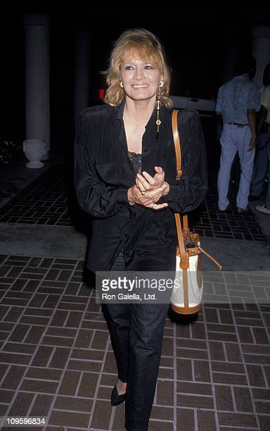 Angie Dickinson during Universal Studios Private Party at the Grand Cypress Resort - June 6, 1990 at Grand Cyprus Resort in Orlando, Florida, United...