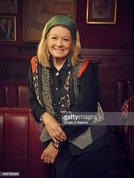 Angie Dickinson is photographed at restaurant Dan Tana's for The Hollywood Reporter on October 3 2014 in Los Angeles California