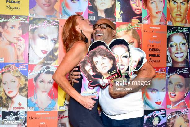 Angie Everhart and Ezequiel de la Rosa attend STARMAKER Book Launch By Roger And Mauricio Padilha at Public Hotel on September 5 2018 in New York City