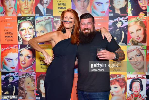 Angie Everhart and Joseph Haecker attend STARMAKER Book Launch By Roger And Mauricio Padilha at Public Hotel on September 5 2018 in New York City