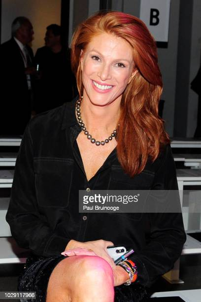 Angie Everhart attends Disney Villains x The Blonds NYFW Show during New York Fashion Week The Shows at Gallery I at Spring Studios on September 7...