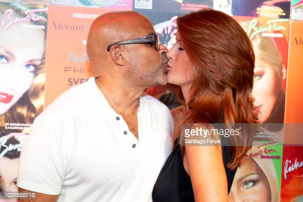 Angie Everhart attends Richard Bernstein 'STARMAKER' Book Launch Party at Public Arts on September 5 2018 in New York City