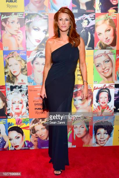 Angie Everhart attends STARMAKER Book Launch By Roger And Mauricio Padilha at Public Hotel on September 5 2018 in New York City