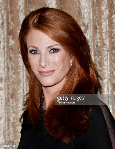 Angie Everhart attends the 8th annual Unstoppable Foundation Gala at The Beverly Hilton Hotel on March 25 2017 in Beverly Hills California
