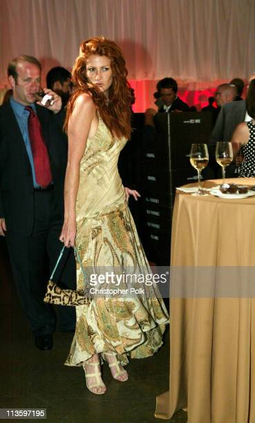 Angie Everhart during 2003 ESPY Awards - After Party at Kodak Theatre in Hollywood, California, United States.