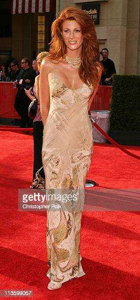 Angie Everhart during 2003 ESPY Awards Arrivals at Kodak Theatre in Hollywood California United States