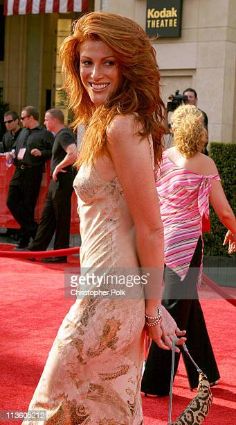 Angie Everhart during 2003 ESPY Awards - Arrivals at Kodak Theatre in Hollywood, California, United States.