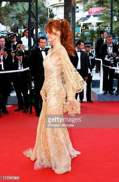 Angie Everhart during 2004 Cannes Film Festival 2046 Premiere at Palais Du Festival in Cannes France