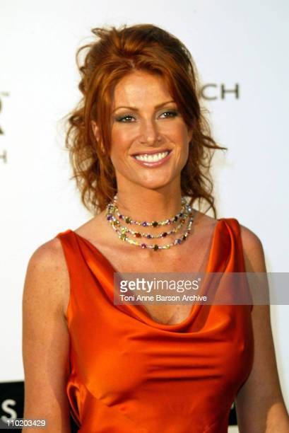 Angie Everhart during amfAR's Cinema Against AIDS Cannes Benefit Sponsored by Miramax and Quintessentially Arrivals at Moulin De Mougins in Cannes...