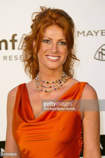 Angie Everhart during amfAR's 'Cinema Against AIDS Cannes' Benefit Sponsored by Miramax and Quintessentially Arrivals at Moulin De Mougins in Cannes...