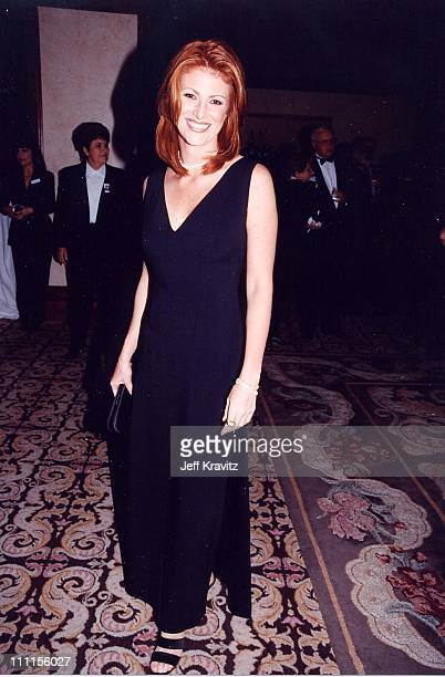 Angie Everhart during Century Plaza '98 at Century Plaza Hotel in Los Angeles California United States