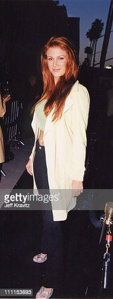 Angie Everhart during 'Gladiator' Premiere by Dreamworks in Beverly Hills California United States
