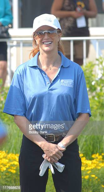 Angie Everhart during Joe Pesci's 6th Annual Celebrity Skins Game to Benefit Saint Barnabas Health Care System at Florham Park in Florham Park, New...