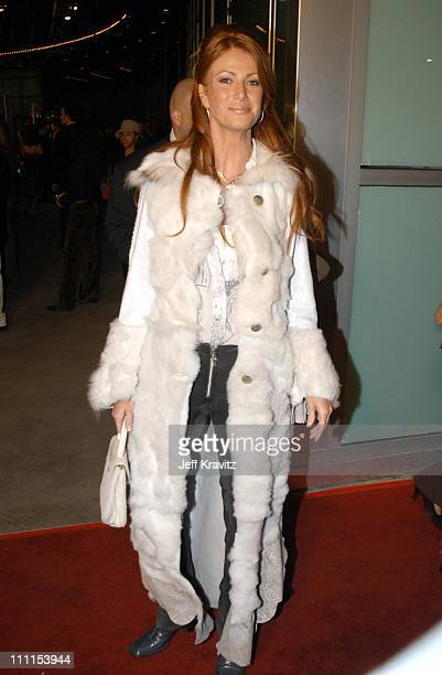Angie Everhart during Just Married Premiere at Cinerama Dome in Hollywood CA United States