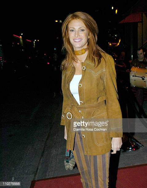 Angie Everhart during New York Premiere of Cirque Du Soleil's ''Corteo'' After Party at Pacha in New York City New York United States