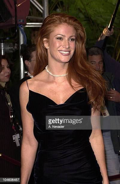 Angie Everhart during Night of 100 Stars at Beverly Hills Hotel in Beverly Hills, California, United States.