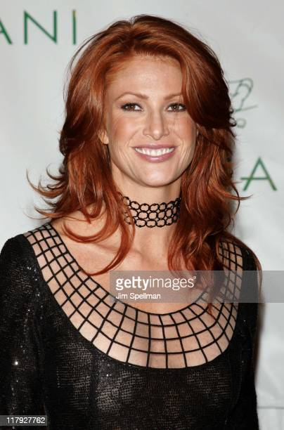 Angie Everhart during Royal Birthday Ball for Sean 'P Diddy' Combs Outside Arrivals at Cipriani in New York City New York United States