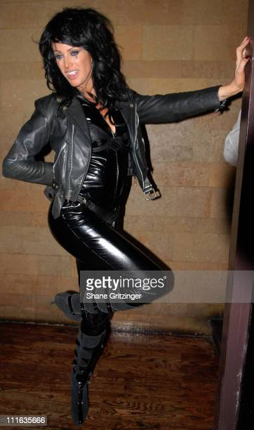 Angie Everhart during The Lotus Halloween Hosted By Heatherette's Richie Rich October 31 2006 at Lotus in New York City New York United States