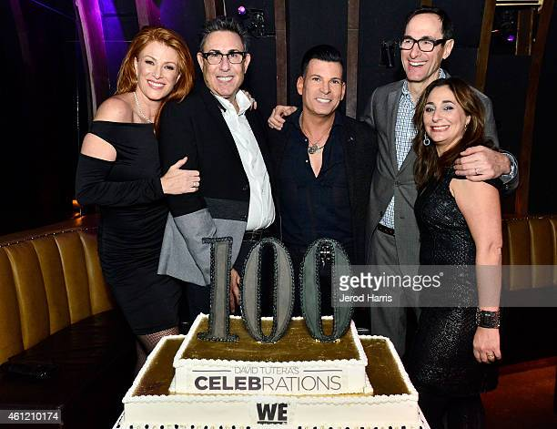 Angie Everhart, President of WE tv Marc Juris, David Tutera, President of AMC Networks Josh Sapan and Executive Vice President of Development Lauren...