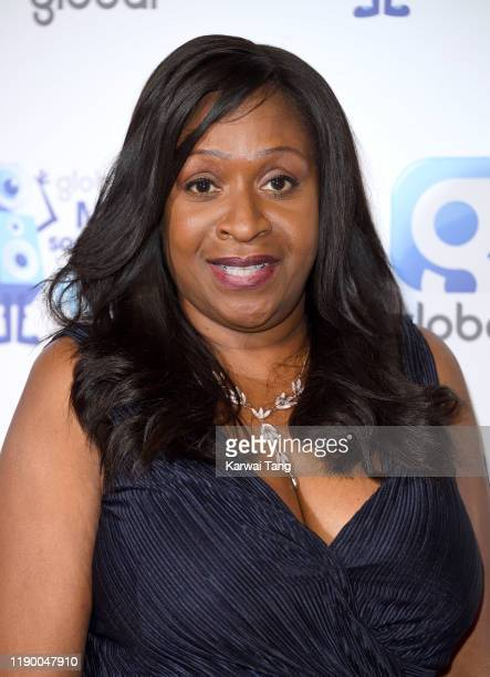 Angie Greaves attends Global's Make Some Noise Night 2019 at Finsbury Square Marquee on November 25, 2019 in London, England.