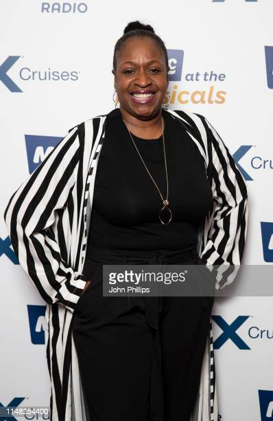 Angie Greaves attends Magic at the Musicals at Royal Albert Hall on May 10, 2019 in London, England.