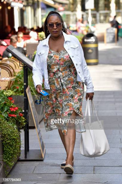Angie Greaves sighting on July 23, 2020 in London, England.