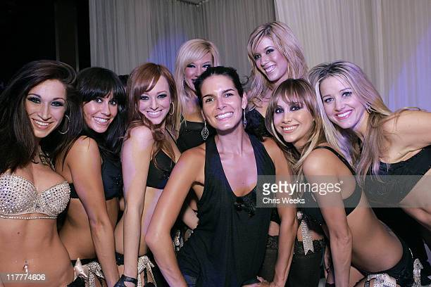 Angie Harmon and the Las Vegas Pussycat Dolls