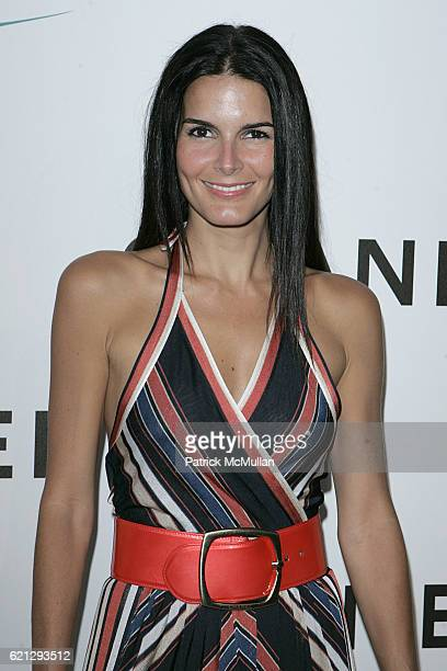 Angie Harmon attends CHANEL Boutique Opening on Roberston Blvd ARRIVALS at Chanel Store on May 30 2008 in Beverly Hills CA
