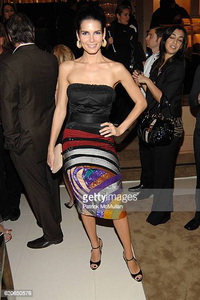 Angie Harmon attends JIMMY CHOO Celebrates Opening of Rodeo Drive Flagship **NO UK SALES** at Jimmy Choo Boutique on January 11 2008 in Beverly Hills...