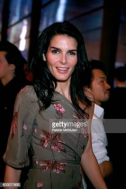 Angie Harmon attends PRADA premiere of 'TREMBLED BLOSSOMS' with performance by CocoRosie at PRADA Epicenter on February 5 2008 in New York City