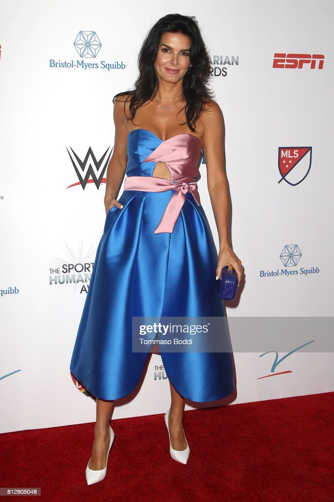Angie Harmon attends the 3rd Annual Sports Humanitarian Of The Year Awards at The Novo by Microsoft on July 11, 2017 in Los Angeles, California.