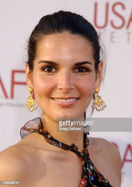 Angie Harmon during 30th AFI Life Achievement Award A Tribute to Tom Hanks at Kodak Theatre in Hollywood California United States