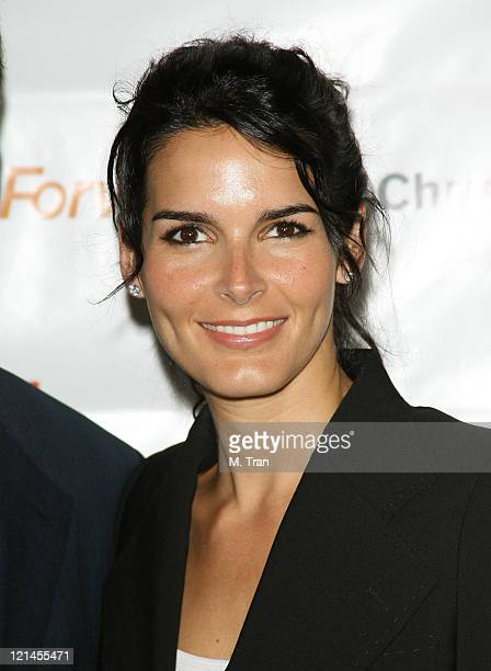 Angie Harmon during 3rd Annual Los Angeles Gala for the Christopher and Dana Reeve Foundation at Century Plaza Hotel in Century City, California,...