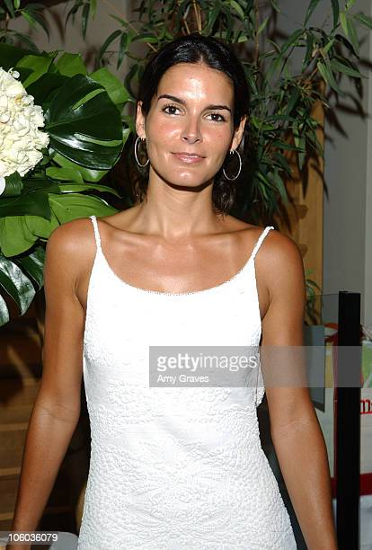 Angie Harmon during Allure and Linda Wells's Summer Cocktail Party at Hamasaku Restaurant in Los Angeles California United States