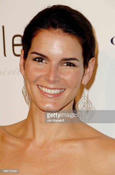 Angie Harmon during Carolina Herrera Los Angeles Boutique Opening Arrivals at Carolina Herrera in West Hollywood California United States