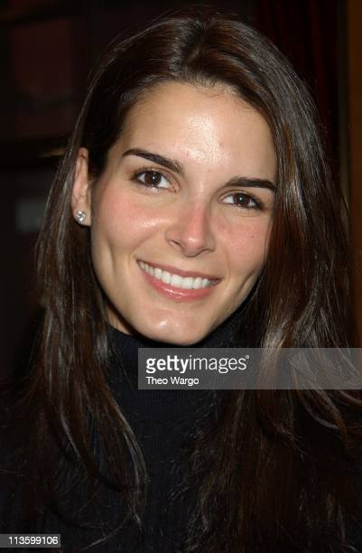 Angie Harmon during Cartier unveiling of the Historic Patiala Necklace at Cartier in New York City New York United States