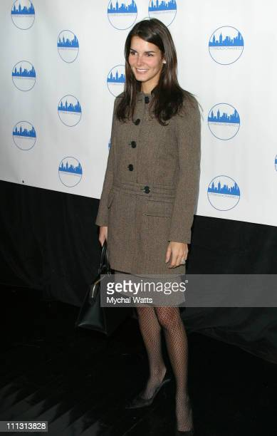Angie Harmon during CityMeals on Wheels's 16th Annual Power Lunch for Women at Rainbow Room Rockefeller Plaza in New York New York United States