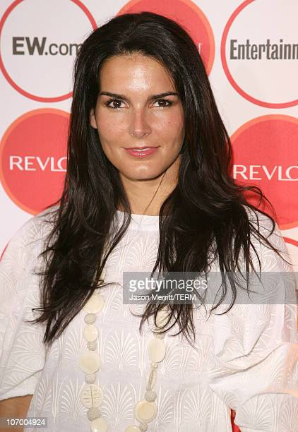 Angie Harmon during Entertainment Weekly's 4th Annual PreEmmy Party at Republic in West Hollywood California United States