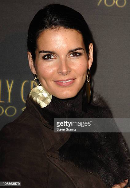 """Angie Harmon during Los Angeles Opening Night of The Tony Award Winning Broadway Show Billy Crystal """"700 Sundays"""" at Wilshire Theatre in Beverly..."""