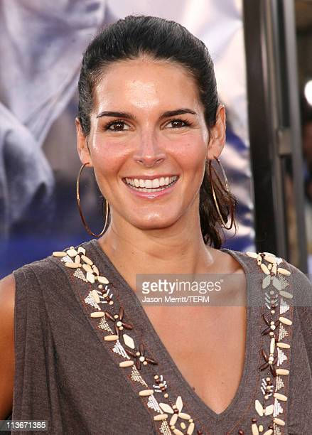 Angie Harmon during 'Miami Vice' World Premiere Arrivals at Mann Village Westwood in Westwood California United States