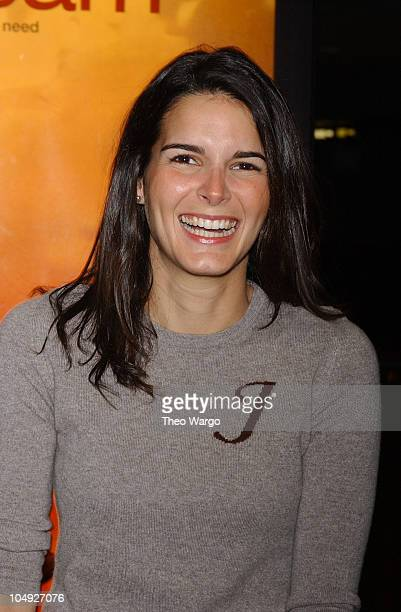 Angie Harmon during Special Screening of 'I Am Sam' in New York City at U A Union Square Theatre in New York City New York United States