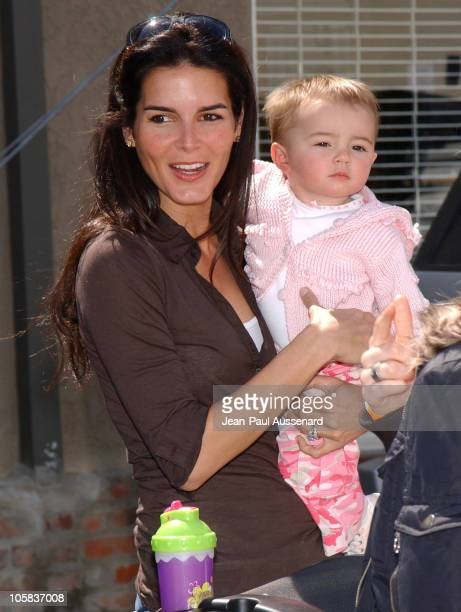 Angie Harmon during The John Varvatos 4th Annual Stuart House Charity Benefit - Arrivals at John Varvatos Boutique in West Hollywood, California,...